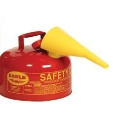 2 Eagle Type Gallon (Eagle Mfg - Type l Safety Cans 2 Gallon Type 1 Safety Can - Sold as 1 Can)