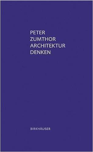 Architekur Denken