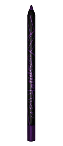 L.A. Girl Glide Gel Eyeliner Pencils, Black Amethyst, 0.04 Ounce (Pack of 3) ()