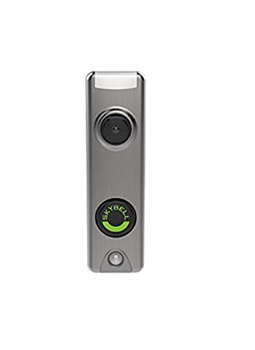 Silver Trim Note - Honeywell SkyBell Slim Design 1080p Wi-Fi Video Doorbell Silver Finish