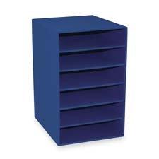 Pacon Six Shelf Organizer - Pacon Corporation : 6-Shelf Organizer, 13-1/2