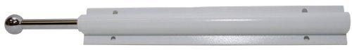 Easy Track RA1204 Sliding Valet Wardrobe Rod, White by Easy Track -