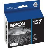 Epson UltraChrome K3 157 Inkjet Cartridge (Matte Black) (T157820)