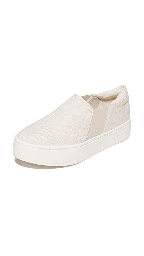 Vince Women's Warren Platform Sneakers, Off White, 8 B(M) US