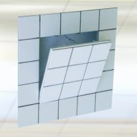 12''X 12'' F3-Drywall Access Panel for tile applications, with 1/2'' inlay by FF Systems Inc