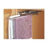 Rev-A-Shelf 3-Prong Pullout Towel Bar Sink Base Organizers, White by Rev-A-Shelf