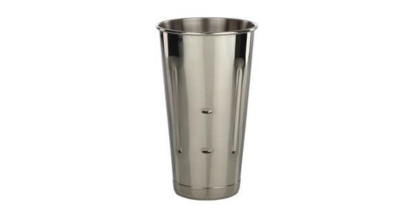 Amazon.com: Vaso de acero inoxidable para malta o batido de ...