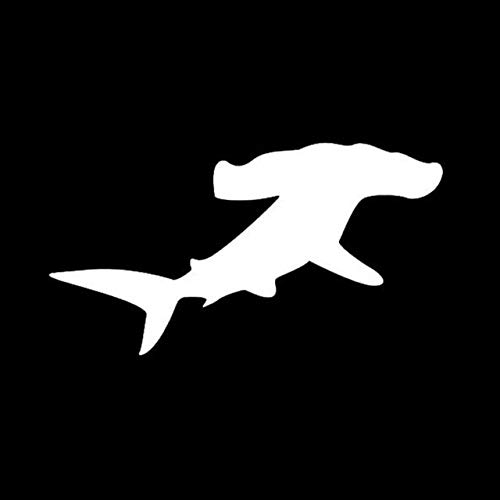 DECAL-STYLE - 13x7CM Car Sticker Hammerhead SHARK Ocean Motorcycles Personality Reflective Car Stickers And Decals
