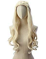 Light wavy blonde Khaleesi Daenerys Targaryen Wig