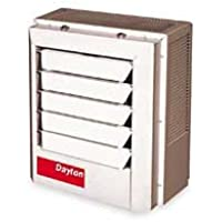 Dayton 5kW Electric Unit Heater, 1 or 3-Phase, 208V, 2YU65