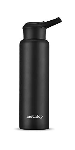 sports steel water bottle - 2