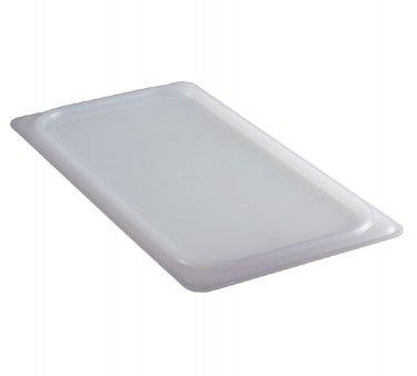 Camwear Pan Cover Food (Cambro 60PPCWSC438 Camwear White Flexible Food Pan Seal Cover, 1/6 Size, 6 Pack)