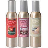 Yankee Candle Concentrated Room Sprays: Macintosh, Home Sweet Home, Sage & Citrus; Set of 3 Popular ()