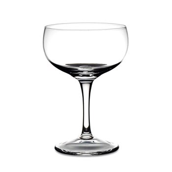 Cocktail Kingdom Leopold Coupe Glass, 7.5 Oz - Case of 24 by Cocktail Kingdom