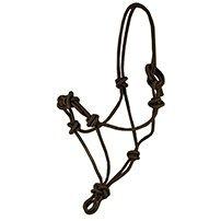 - Partrade Training Rope Halter Black Horse