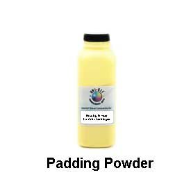 Universal Brand: Drum padding powder for use with COLOR TONER cartridges, 100 gm bottle (Gm Powder Bottle)