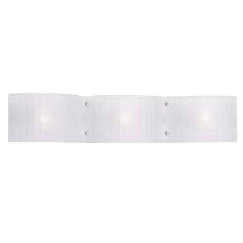 - Livex Lighting 1433-05 Luna 3-Light Bath Light, Chrome