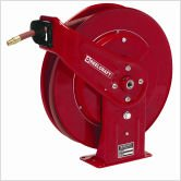 Reelcraft 7670 OLP Heavy Duty Spring Retractable Hose Reel, 3/8