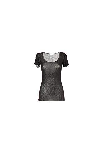 Shirt Manica Cafènoir 010 Ijt758 T Nero Corta wA7HH4Enq