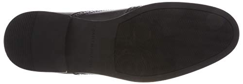Negro Hombre 990 Leather Botas black Dressy Tommy Chelsea Hilfiger Casual wRHc0qYz