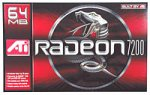 ATI 100430266 Radeon 7200 AGP Video Card Ati Agp Video Cards