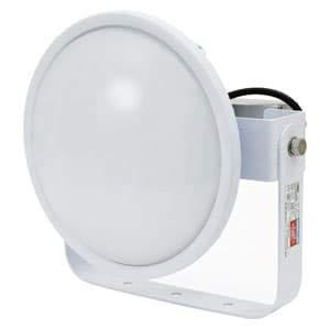 日動工業 LED投光器 ハイディスク150W 高効率タイプ HID400W相当 昼白色 電源装置一体型 ワイドタイプ 電線ポッキンプラグ5m付 乳白 L150V2-D-HMW-50K