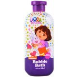 Nickelodeon Dora the Explorer Bubble Bath Berry Adventure 12 Fl Oz
