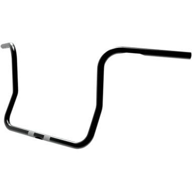 Paul Yaffe Originals 1in. Classic Bagger Apes - 12in. Ape Hangers - Black , Handle Bar Size: 1in., Color: Black (10 Inch Ape Hangers For Ultra Classic)
