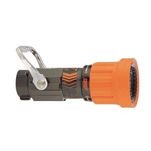 Fire Hose Nozzle, 2-1/2 In., Orange