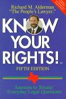 Know Your Rights!, Alderman, Richard M., 0884154203