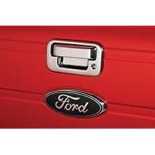04-14 FORD F150 / 08-15 FORD F250 F350 F450 SUPERDUTY / 04-08 FORD MARK LT / 07-10 FORD EXPLORER SPORT TRAC CHROME TAILGATE HANDLE COVER Razer Auto