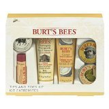 New Burt's Bees Tips and Toes Hands and Feet Kit by New Burt's Bees