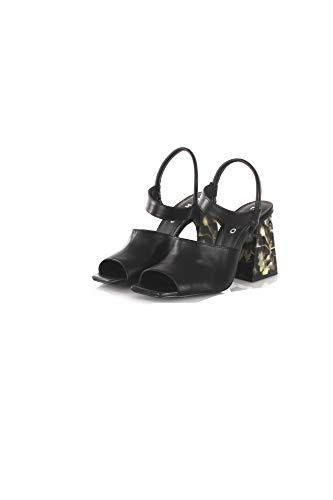 Estate Sandalo 39 Chio Donna 2019 Primavera Nero Mestizo 6332 RRwHqC0
