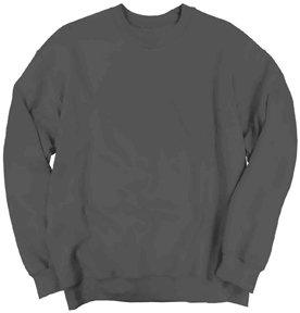 Gildan 18000 - Classic Fit Adult Crewneck Sweatshirt Heavy Blend - First Quality - Charcoal - Large