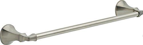 delicate Delta 76418-SS Ashlyn Towel Bar, 18″, Stainless Steel