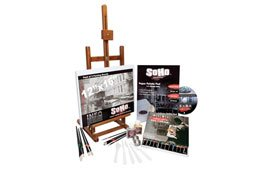 SoHo Urban Artist Oil Color Paint and High Pigmented Professional Oil Paint - Complete Oil Painting Set All Inclusive Kit (Soho Oil)