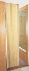 Irvine 4875FIB Ivory Pleated Folding Door