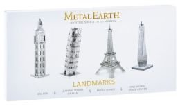 Metal Earth 3D Laser Cut Model - 4 Landmarks Set