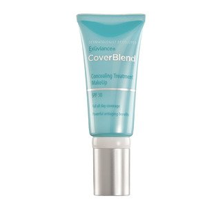 Terra Cotta Sand - Exuviance CoverBlend Concealing Treatment Makeup SPF 30, Terracotta Sand, 1 oz