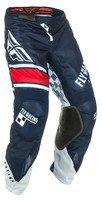 Pants Kinetic Mesh - Fly Racing Men's Kinetic Mesh Era Pants (Navy/White/Red, Size 38)