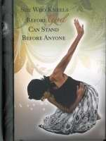"""Office Products : African American Expressions - She Who Kneels Journal (128 pages, 6.25"""" x 8.5"""") J-133"""