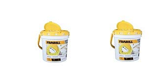 Frabill 4825 Insulated Bait Bucket with Built in Aerator (2) by Frabill