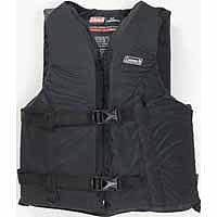 Coleman Universal Flotation Adult Black Fishing Vest Review