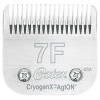OSTER A5 BLADE SET, Color: SILVER; Size: 7F (Catalog Category: Dog:GROOMING)