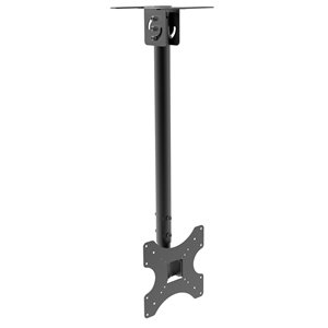 InstallerParts Flat TV Ceiling Mount Adjustable Pole Angle 10