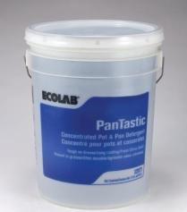 Ecolab Pantastic Pot & Pan Detergent Warewashing Dishes Utensils - 5 Gallon