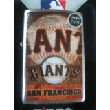 Zippo Lighter MLB San Francisco Giants Brushed Chrome