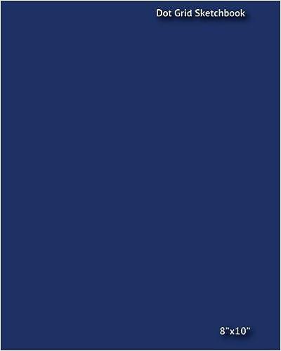 Book Dot Grid Sketchbook: 8 x 10 Dot Grid Sketchbook- Blue by Joseph Davis (2014-04-06)
