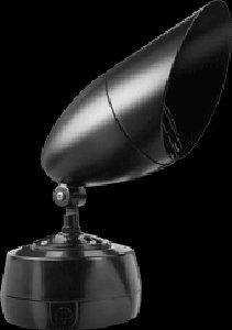 RAB Lighting HBHH70VQTVG HB Metal Halide HID Floodlight with Visor, PAR38 MH Type, Aluminum, 70W Power, 4800 Lumens, 277V, Verde Green