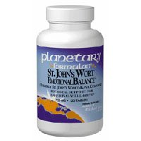St. John's Wort Emotional Balance, 120 Tabs by Planetary Herbals (Pack of 4) by Planetary Herbals